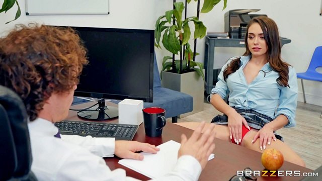 Порно Смотреть Директор распекает молодую училку за откровенные наряды и излишне сексуальное поведение с учениками видео