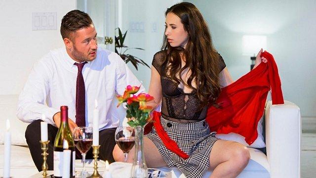 Смотреть Порно Бесплатно Романтический ужин при свечах закончился еблей раком и пальцем в жопе красотули видео